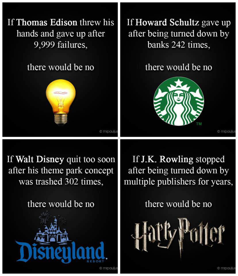 Motivational Quotes About Success: Walt Disney Famous Failure Quotes. QuotesGram