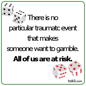 I lost everything through gambling