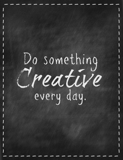 Creative And Inspirational Home Offices: Be Creative Quotes. QuotesGram