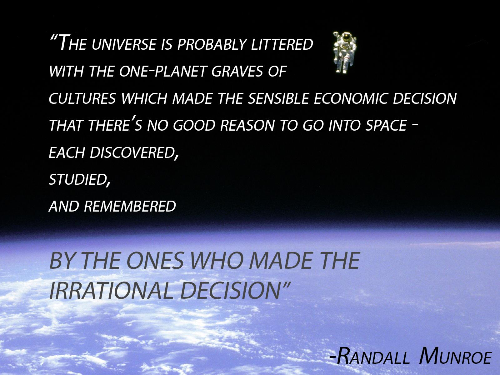 Quotes About Discovery And Exploration Quotesgram: Quotes Against Space Exploration. QuotesGram