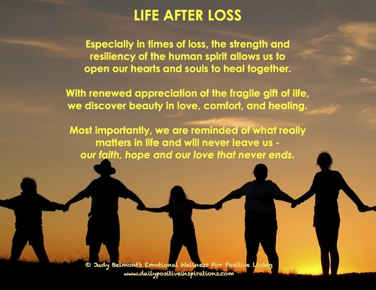 Inspirational life loss quotes