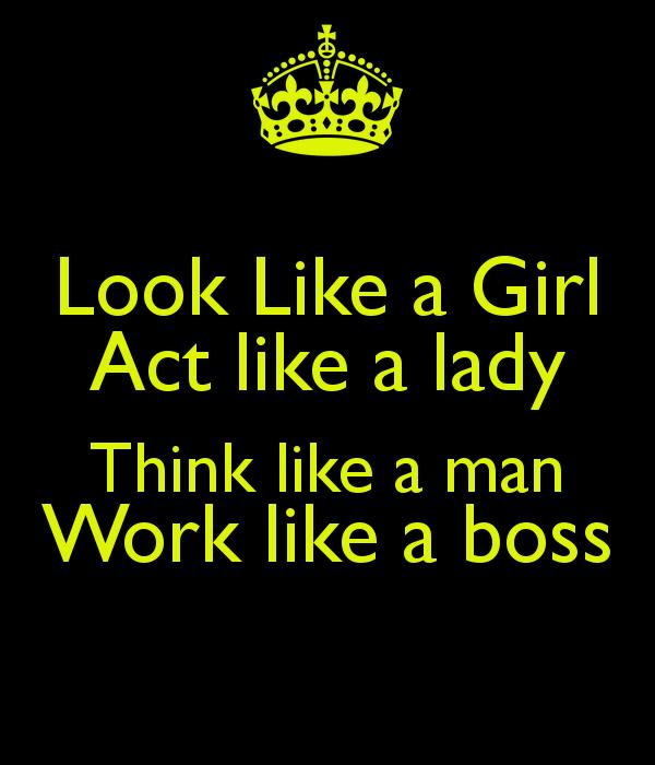 Act like a girl48