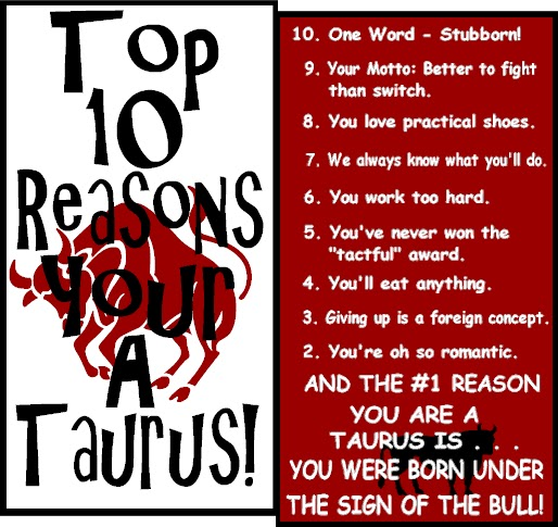 Man love taurus when in How Does