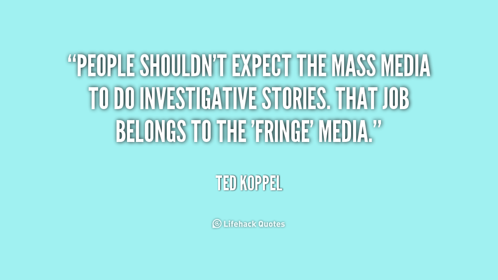 the mass media should be highly Media influence in capital cases juror in an age of mass media (2 process were more likely to recognize the facts of a highly-publicized.