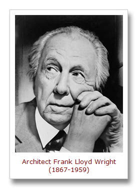 Famous Architecture Quotes Frank Lloyd Wright Quotesgram Interiors Inside Ideas Interiors design about Everything [magnanprojects.com]