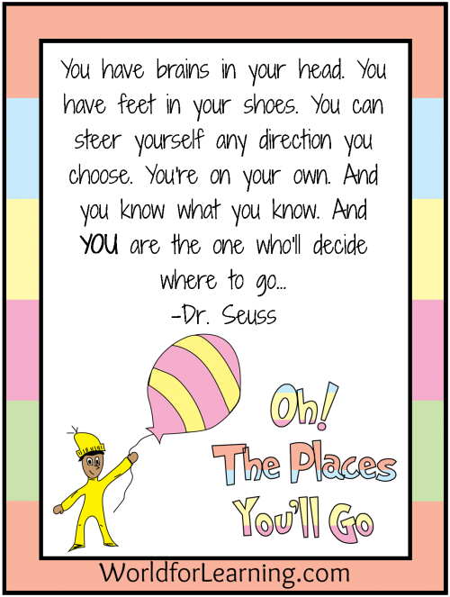 The Places Youll Go Quotes Quotesgram
