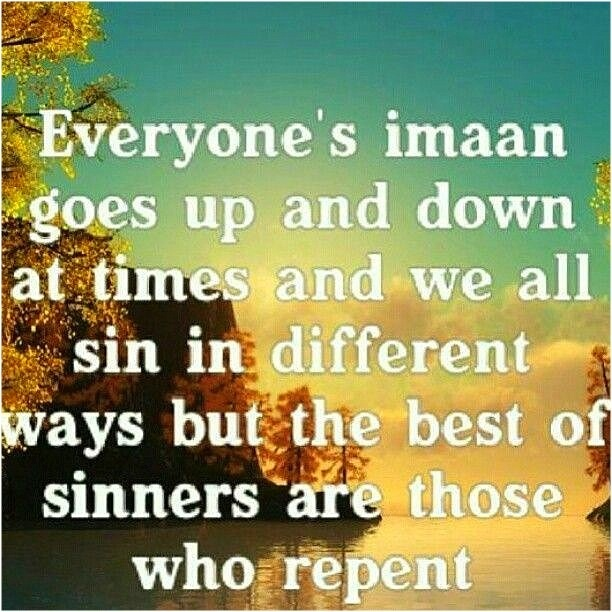 repentance in islam Another important perspective on repentance in islam is that a person should always seek god's forgiveness even when he is not apparently guilty of any particular .