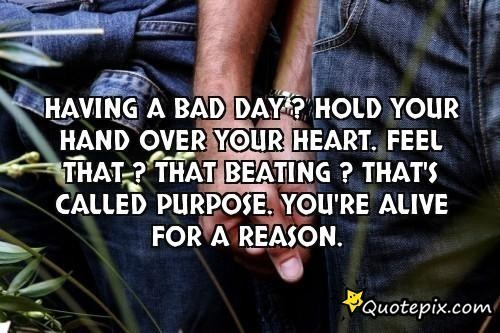 Having bad day inspirational quotes quotesgram for Bad inspiration