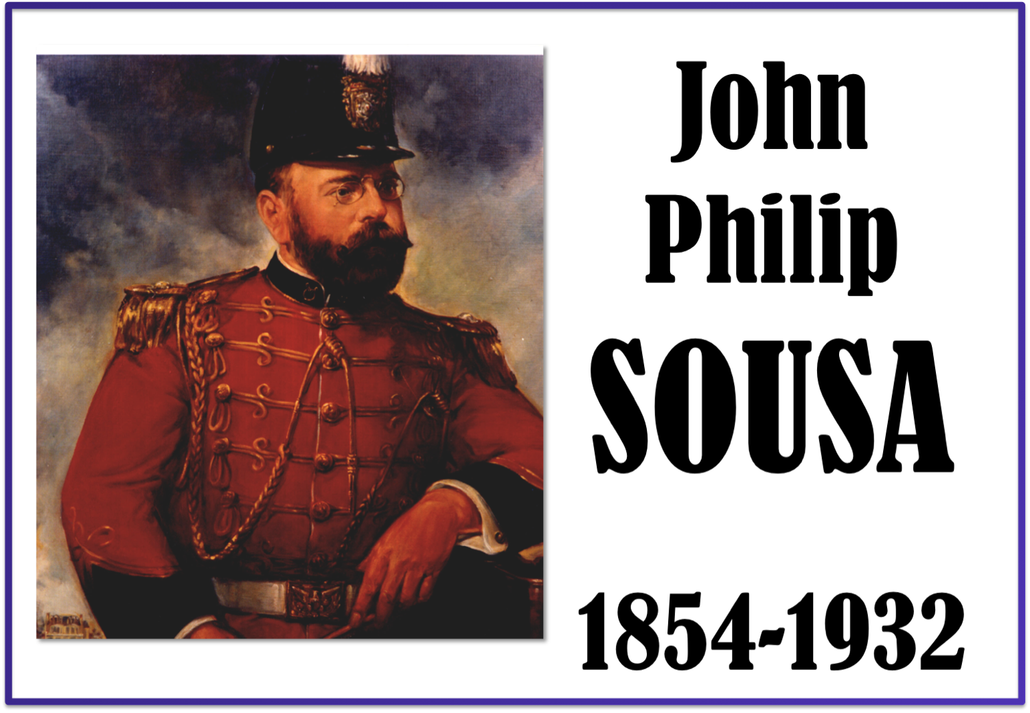 the life and music career of john philip sousa Sousa began his career playing violin and studying music theory and composition under john esputa and george felix benkert his father enlisted him in the united states marine band as an .