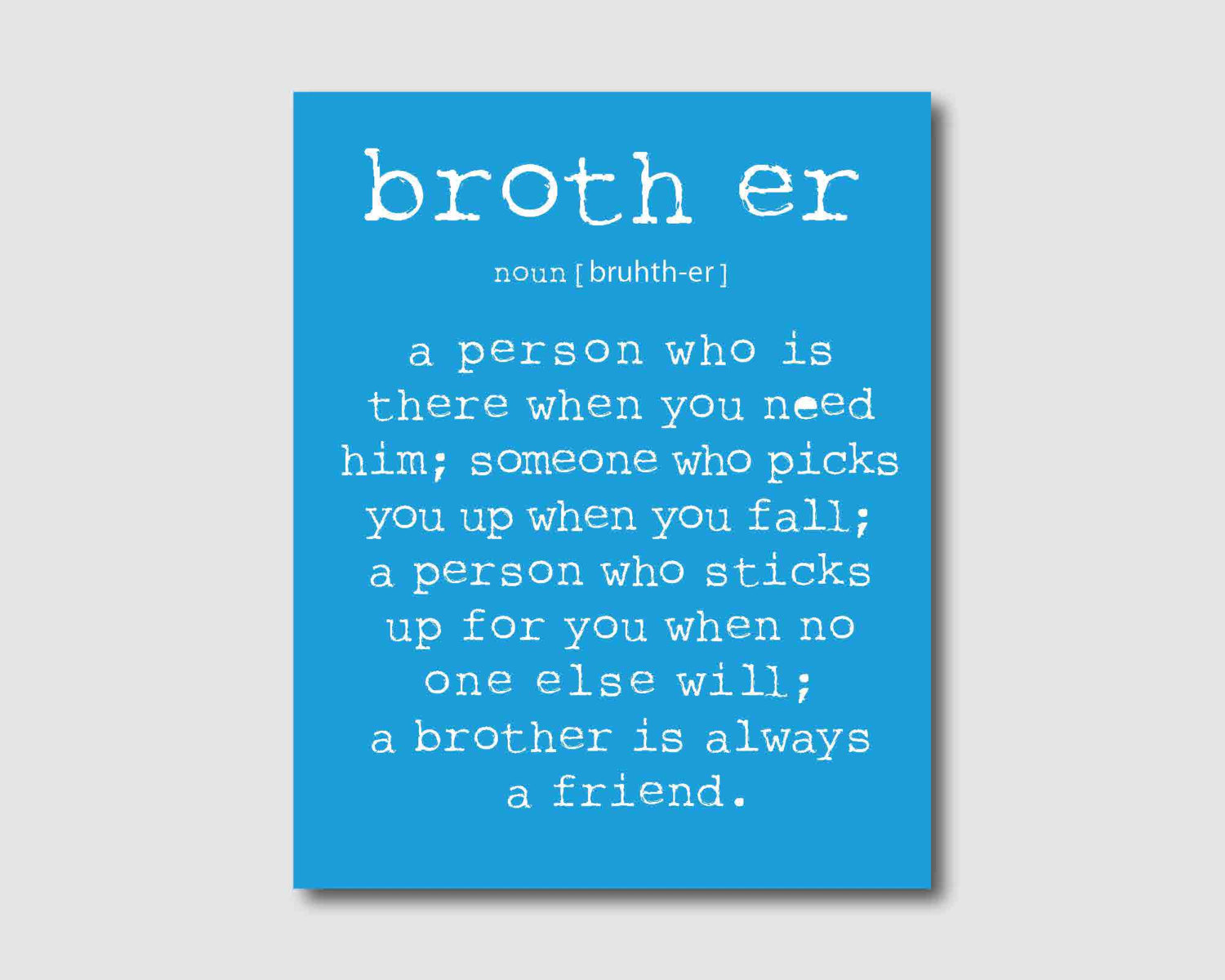 Funny Brother Quotes And Sayings. QuotesGram