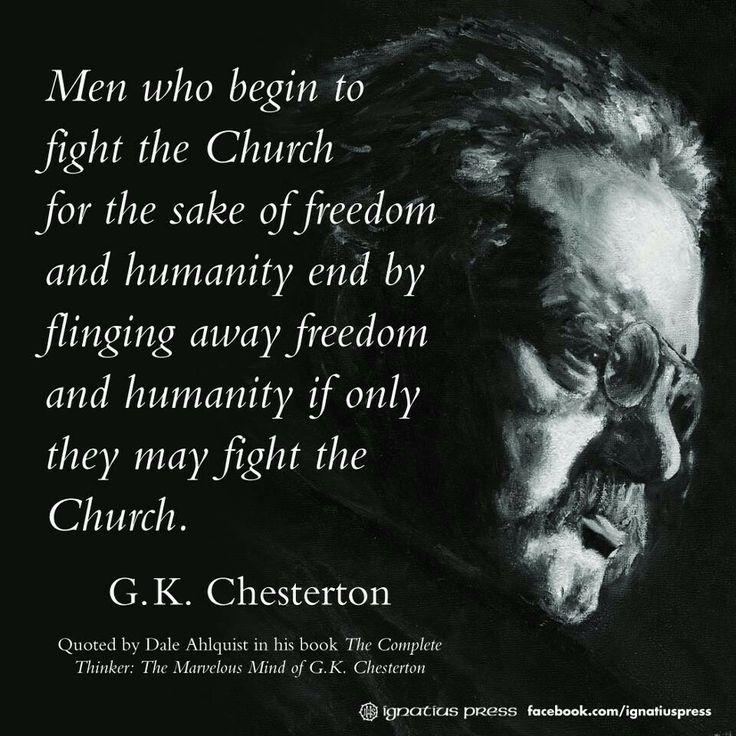 C K Chesterton Quotes Quotesgram
