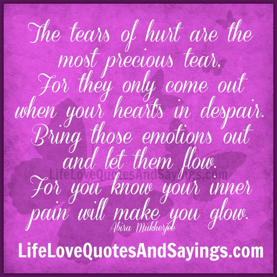 Sad Quotes About Love: Words Hurt Quotes And Sayings. QuotesGram