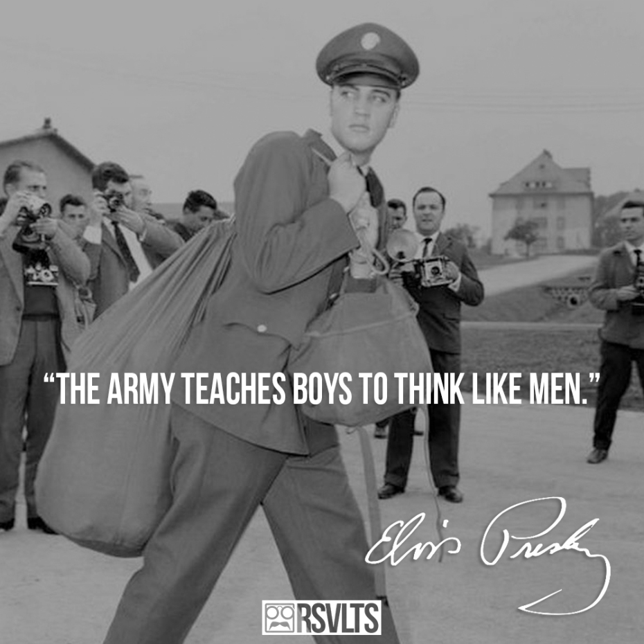 Famous Elvis Quotes: Inspirational Quotes By Elvis Presley. QuotesGram