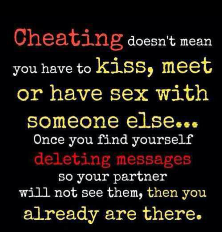 Partner quotes unfaithful 15 Cheating