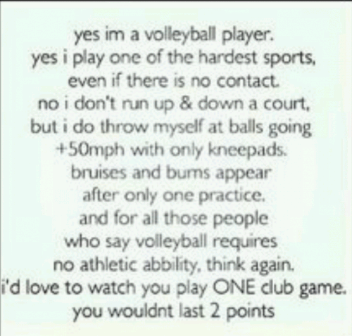 Motivational Quotes For Sports Teams: I Love Volleyball Quotes. QuotesGram