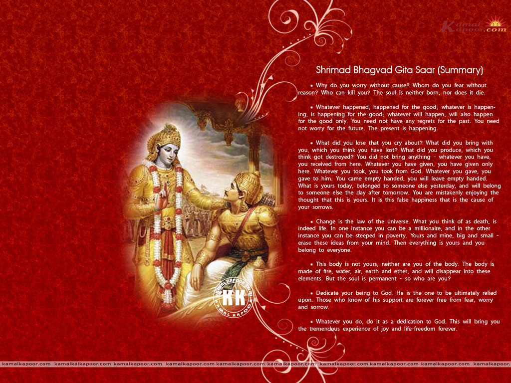 the gita Krishna uses the word yoga over 100 times in the bhagavad gita, so he has plenty to say about it.