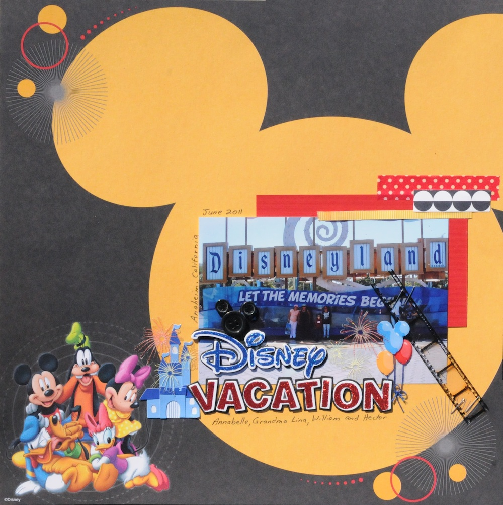 How to scrapbook disney vacation - Disney Scrapbook For Family Quotes