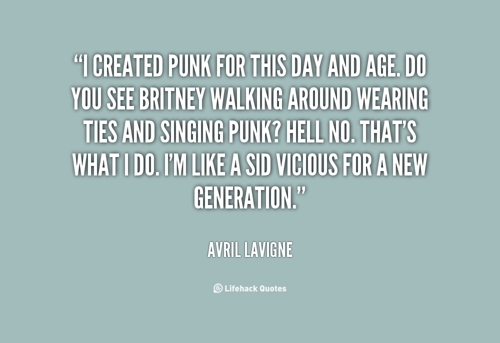 Punk Quotes And Sayings. QuotesGram