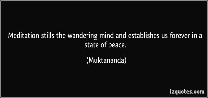 Wandering Mind Quotes. QuotesGram