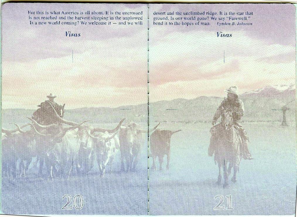 american passport last page - photo #11