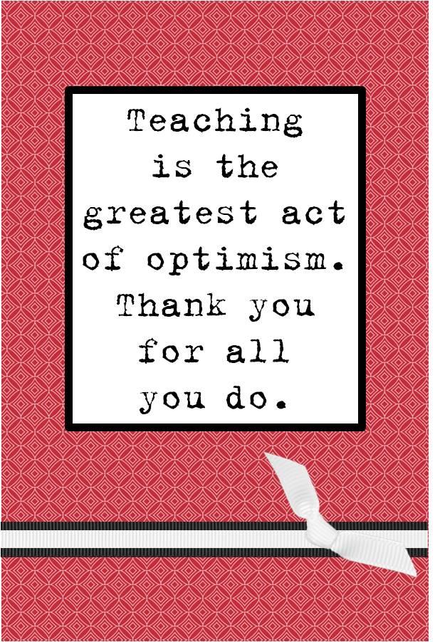 Thank You Teacher Appreciation Quotes Quotesgram