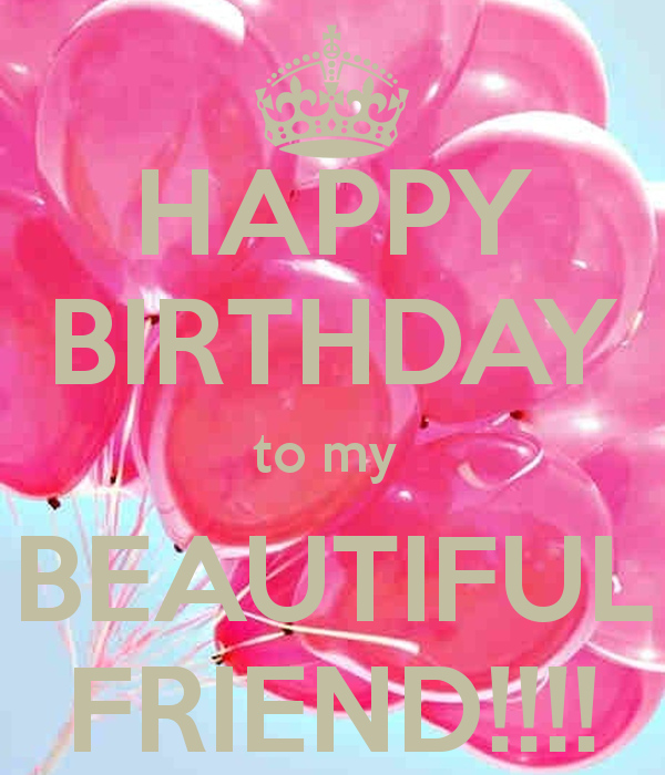 Happy Bday Friend Quotes: Happy Birthday My Friend Quotes. QuotesGram
