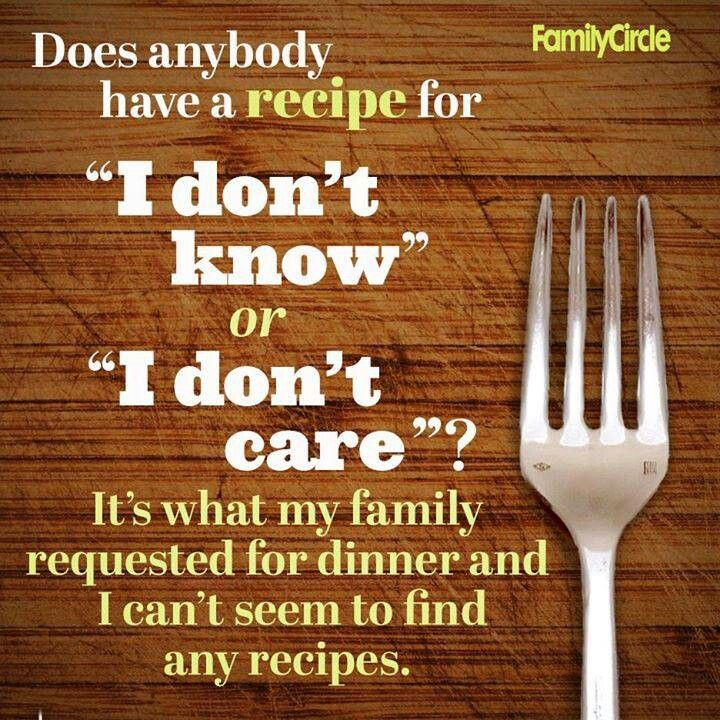 Whats For Dinner Quotes Quotesgram