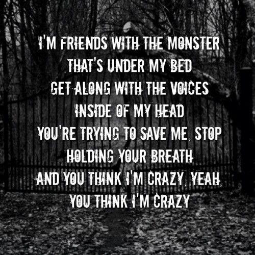 Eminem Song Lyric Quotes: Monster Eminem Quotes. QuotesGram