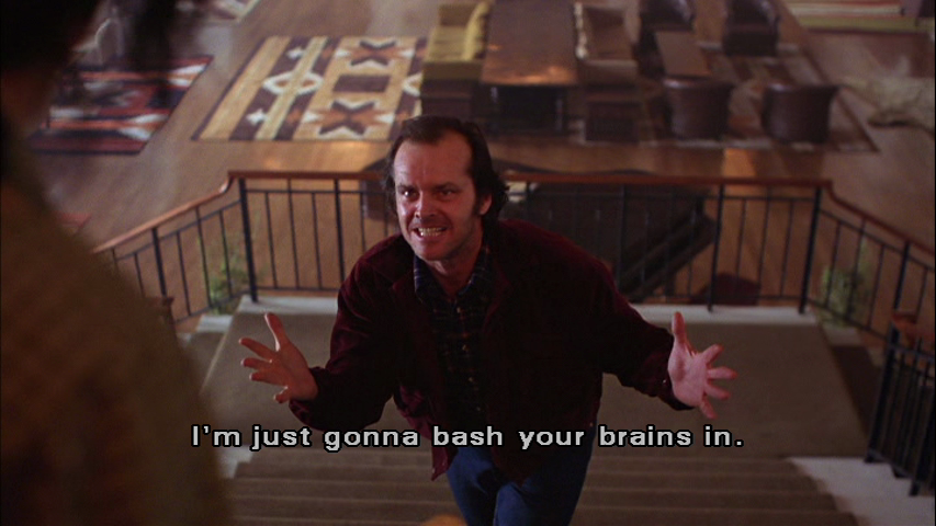 the shining funny quotes quotesgram