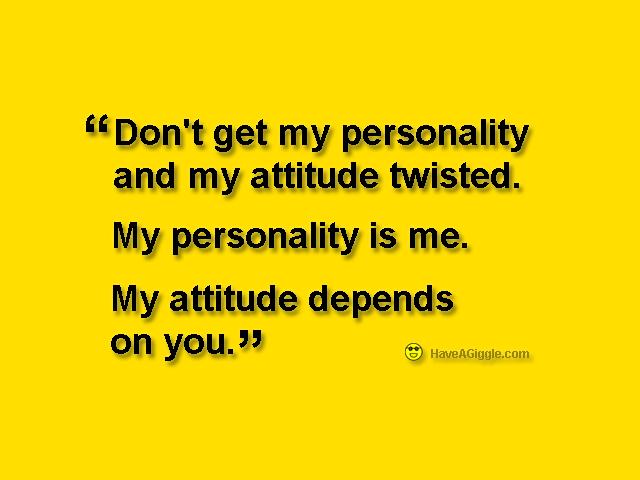 Funny Positive Attitude Quotes Quotesgram