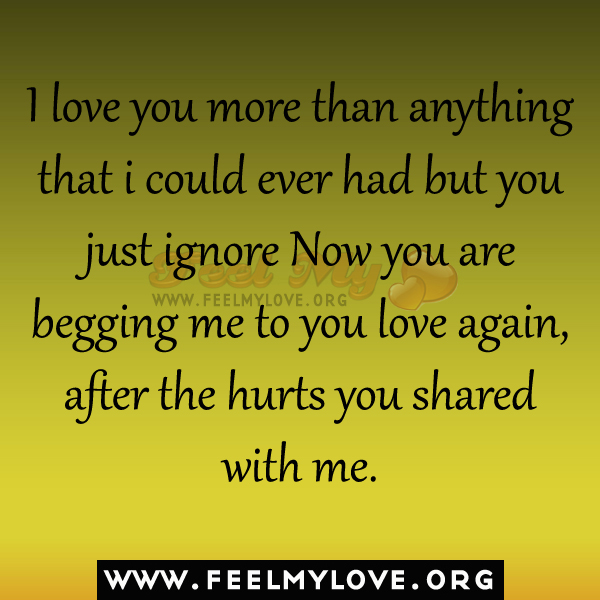 I Could Love You Quotes: I Love More Than Quotes. QuotesGram