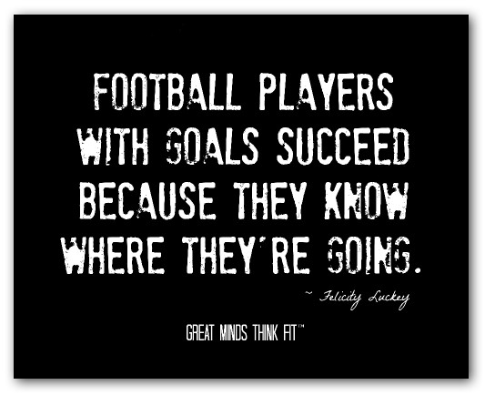 Football Motivational Quotes: Youth Football Quotes. QuotesGram