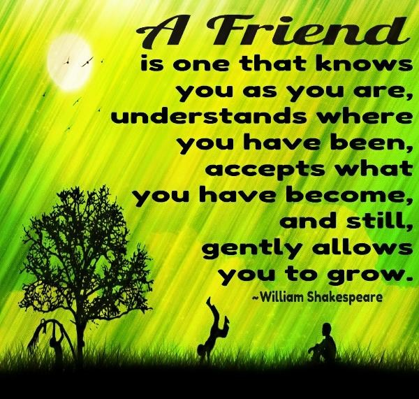 shakespeare estimates friendship