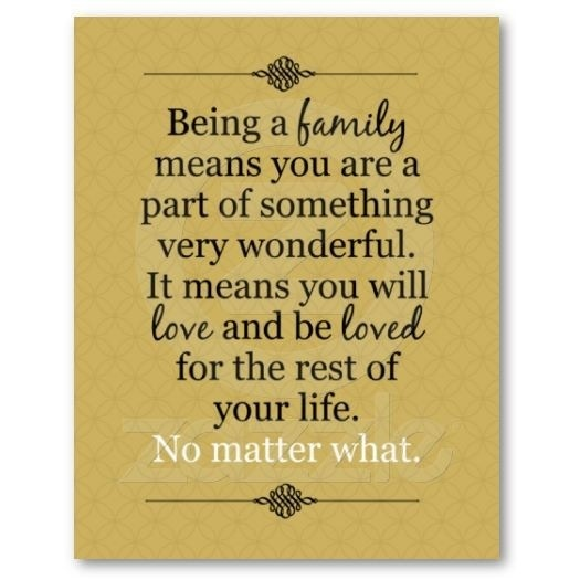 Being A Family Means Quotes. QuotesGram