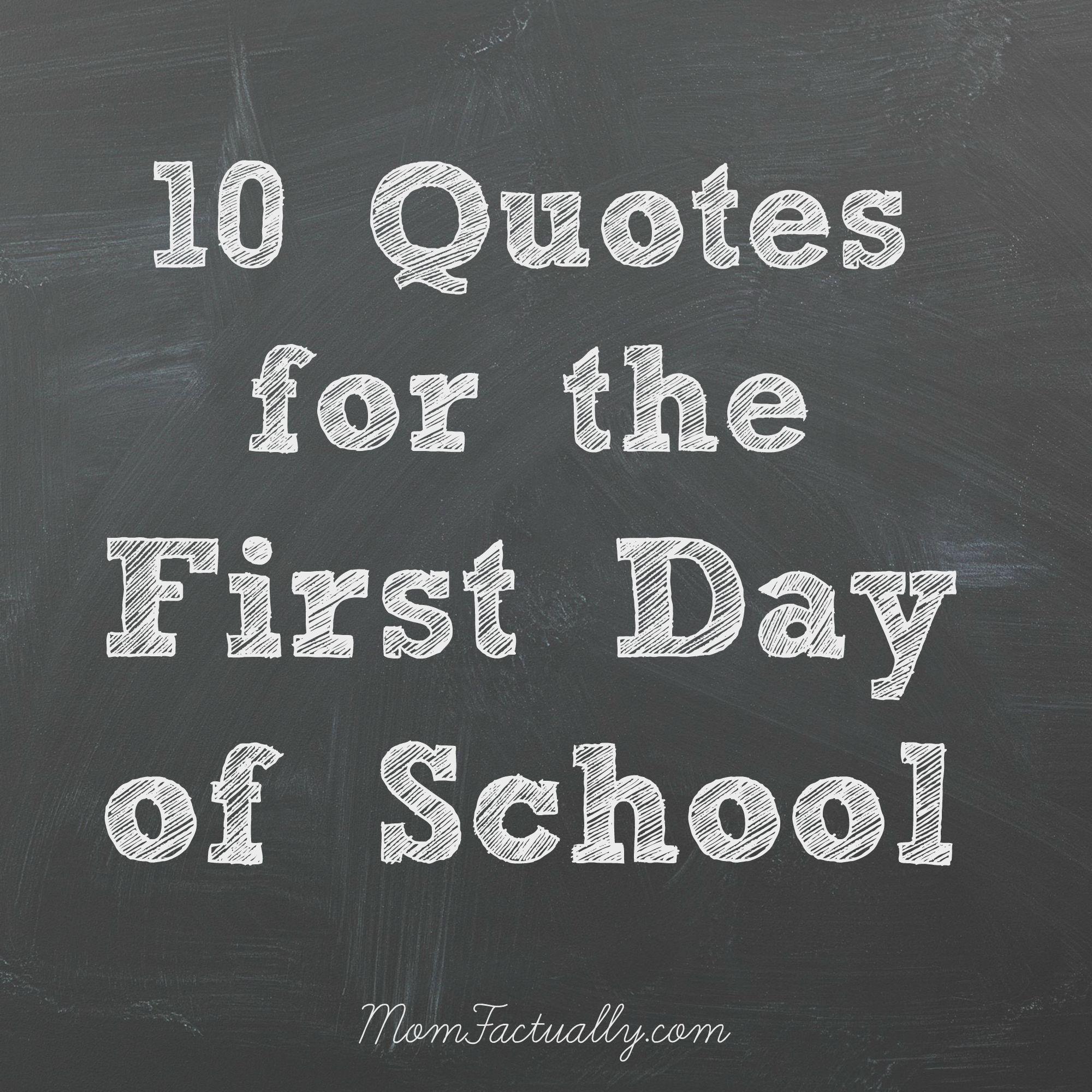 quotations on school days - photo #27