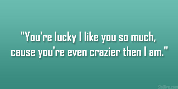 Quotes About Being Lucky. QuotesGram