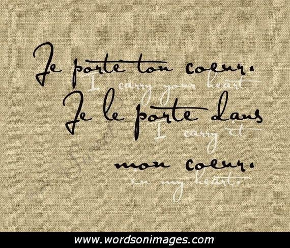 Love In Italian Translation: French Love Quotes With English Translation. QuotesGram