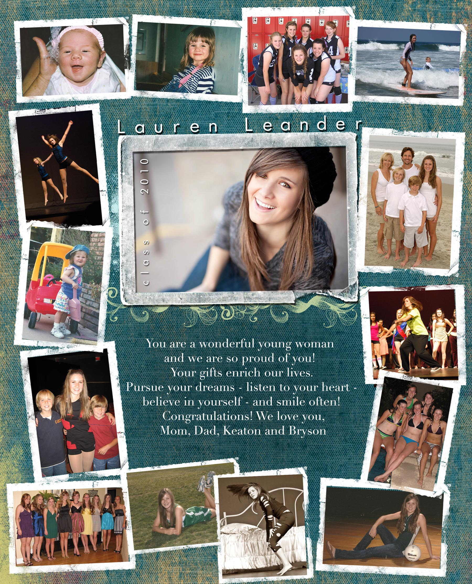 12 best Senior Yearbook Tribute Pages images on Pinterest |Senior Dedication Ideas