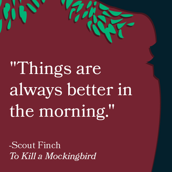to kill a mockingbird growth and Harper lee's pulitzer prize-winning novel, to kill a mockingbird details  sign of growth and maturity by informing his father about the situation.