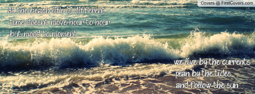 beach quote facebook covers - photo #23