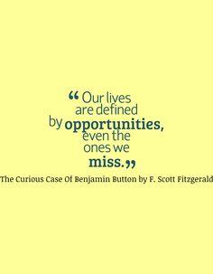 Benjamin Button Quotes Quotesgram