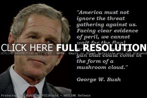 Bush Quotes On Terrorism. QuotesGram