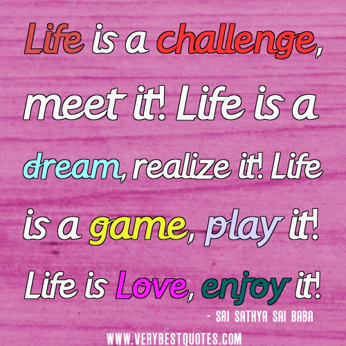Quotes About Challenges: Inspirational Quotes On Life Challenges. QuotesGram