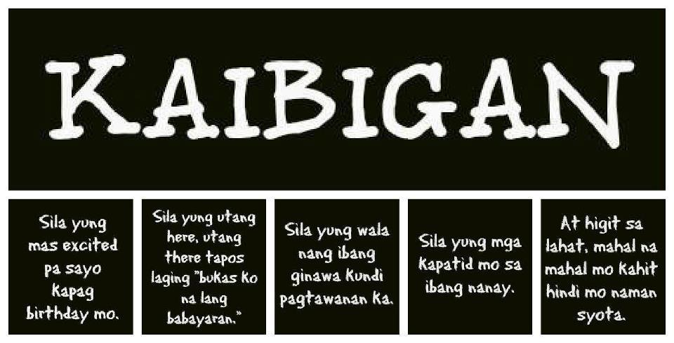 Quotes About Love And Friendship Tagalog : Quotes About Friendship Tagalog. QuotesGram