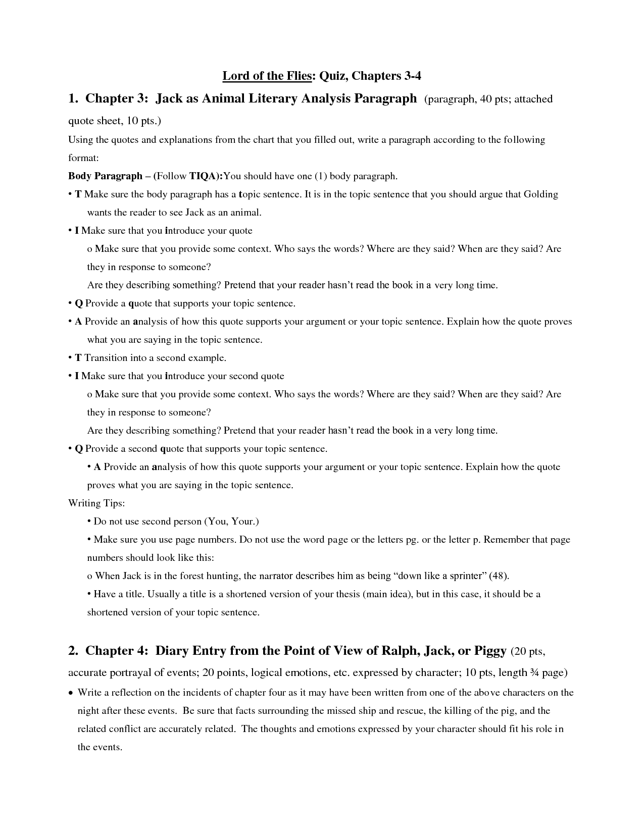 thesis statement of lord of the flies Lord of the flies study guide contains a biography of william golding, literature essays, quiz questions, major themes, characters, and a full summary and analysis.