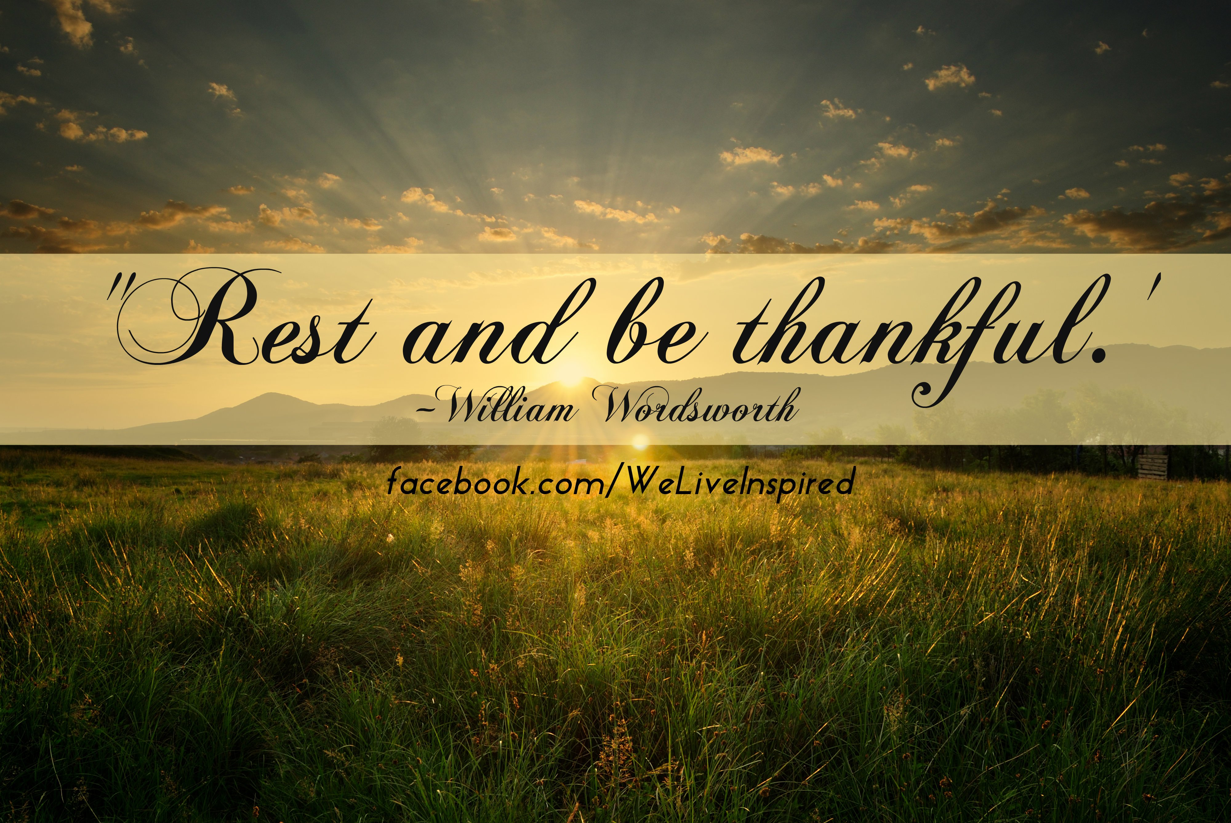 Quotes For The Weary Rest Quotesgram: Motivational Quotes Being Thankful. QuotesGram