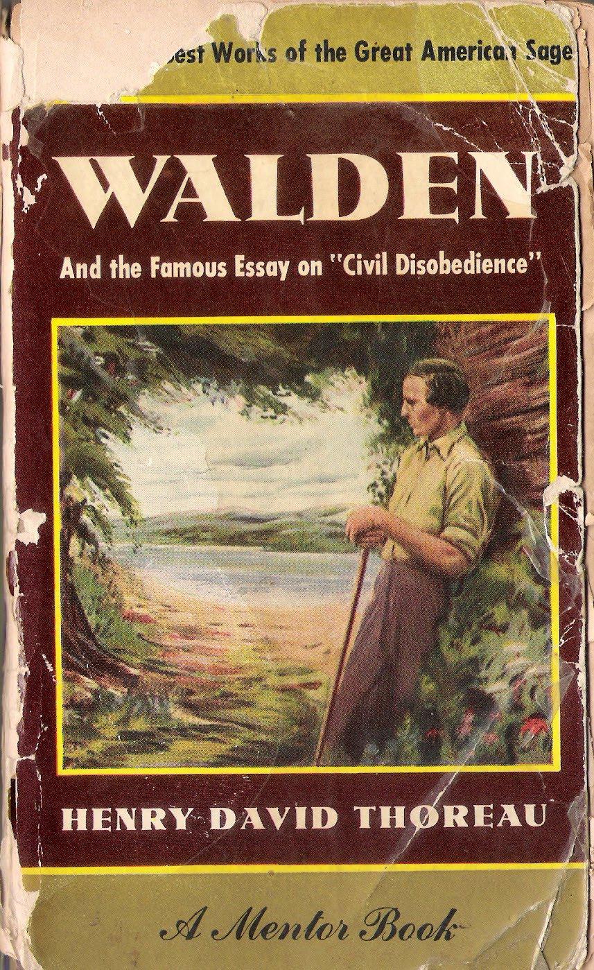 Thoreau walden essay questions
