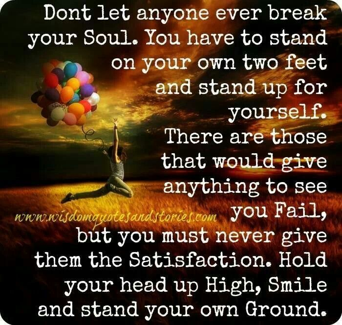 12 Inspirational Quotes For The Soul: Stand Your Ground Motivational Quotes. QuotesGram