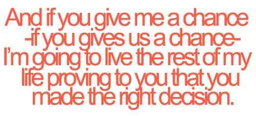 Quotes About Giving A Chance. QuotesGram