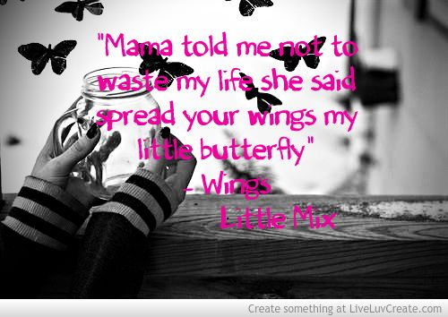 Quotes About Chicken Wings Quotesgram: Inspirational Quotes By Little Mix Wings. QuotesGram